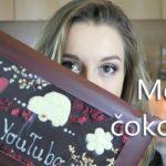 Ponudba čokoladne dekoracije za različna čokoladna peciva